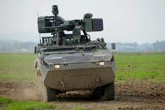 Veículo blindado de transporte de pessoal fotografia de stock royalty free