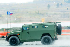 Veículo blindado do tigre-m VIPS-233115 Rússia fotografia de stock royalty free