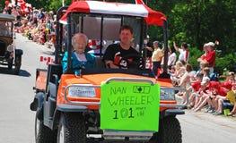 Veículo com rodas de Nan, dia de Canadá no vale Williams Imagem de Stock