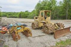 Veículo da construção para pavimentar imagens de stock