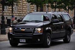 Veículo da proteção do fim do serviço secreto fotografia de stock