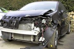 Veículo danificado acidente imagem de stock royalty free