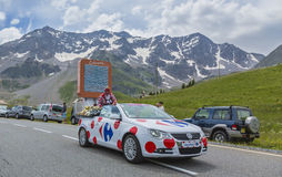 Veículo de Carrefour - Tour de France 2014 Fotos de Stock