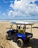 Veículo de socorro do Lifeguard Fotografia de Stock