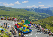 Veículo de Teisseire - Tour de France 2014 Fotos de Stock Royalty Free