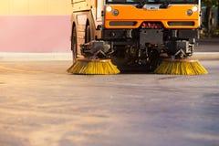 Veículo do líquido de limpeza de rua Imagem de Stock