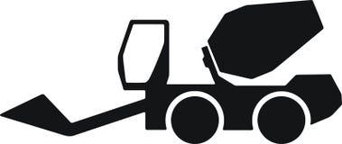 Veículo do misturador, misturador pronto do caminhão Fotos de Stock Royalty Free