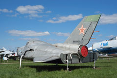 Veículo do teste do espaço MiG-105 fotos de stock