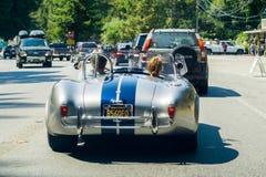 Veículo do vintage de Shelby Cobra foto de stock royalty free