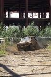 Veículo 4x4 enlameado Imagens de Stock Royalty Free
