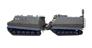 Veículo militar imagem de stock