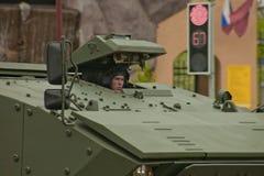 Veículo militar pesado Fotografia de Stock