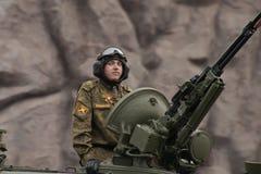Veículo militar pesado Imagem de Stock Royalty Free