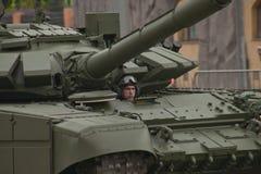 Veículo militar pesado Foto de Stock