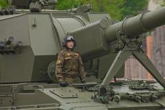 Veículo militar pesado Imagem de Stock