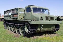 Veículo militar soviético da segunda guerra mundial Fotografia de Stock