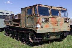 Veículo militar soviético da segunda guerra mundial Fotos de Stock Royalty Free