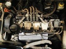 Veículo motorizado sujo imagem de stock