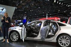 Veículo 2018 novo de Buick na exposição na feira automóvel internacional norte-americana Imagens de Stock Royalty Free