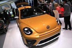 Veículo 2018 novo de Volkswagen na exposição na feira automóvel internacional norte-americana Imagem de Stock