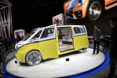 Veículo 2018 novo de Volkswagen na exposição na feira automóvel internacional norte-americana Foto de Stock