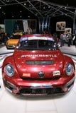 Veículo 2018 novo de Volkswagen na exposição na feira automóvel internacional norte-americana Fotos de Stock Royalty Free