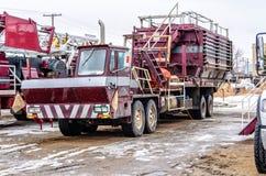 Veículo para a indústria petroleira fotografia de stock