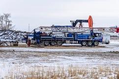 Veículo para a indústria petroleira fotos de stock royalty free