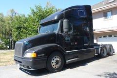 Veículo principal do caminhão no estacionamento Foto de Stock Royalty Free