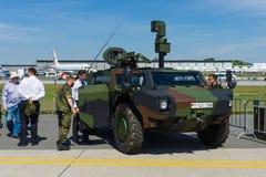 Veículos blindados rodados - radar Fotografia de Stock Royalty Free