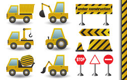 Veículos da construção ilustração stock