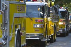 Veículos da emergência Foto de Stock Royalty Free