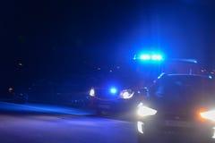 Veículos da emergência na estrada imagem de stock royalty free