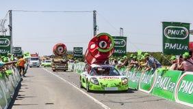 Veículos de Antargaz Foto de Stock