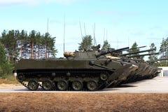 Veículos de combate transportados por via aérea Imagens de Stock