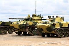 Veículos de combate transportados por via aérea Fotografia de Stock Royalty Free