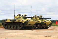 Veículos de combate transportados por via aérea Imagens de Stock Royalty Free