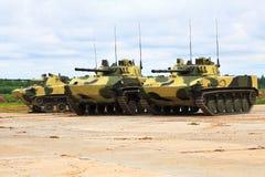 Veículos de combate transportados por via aérea Foto de Stock Royalty Free