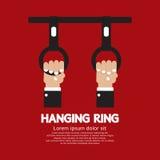 Veículos de suspensão de Ring In The Public Transport ilustração royalty free