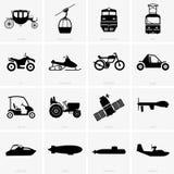 Veículos e transporte ilustração royalty free