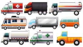 Veículos grandes ilustração stock