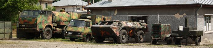 Veículos militares imagem de stock royalty free