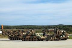 Veículos militares Imagens de Stock
