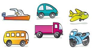Veículos motorizados ilustração stock