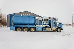 Veículos para a indústria petroleira foto de stock royalty free