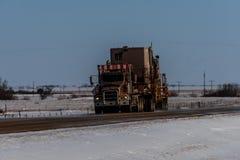 Veículos para a indústria petroleira fotografia de stock royalty free