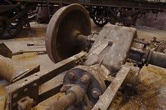 Veículos railway abandonados Fotos de Stock