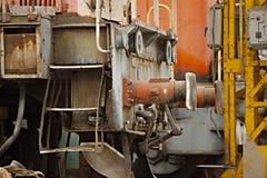 Veículos railway abandonados Imagem de Stock