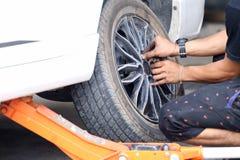 Veículos rodados reparados Fotografia de Stock Royalty Free