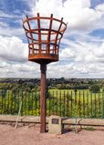VE Day Beacon, Ross on Wye, Herefordshire. Stock Image